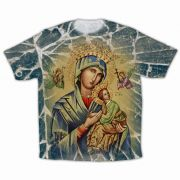 Our Lady of Perpetual Help Graphic Poly T-Shirt
