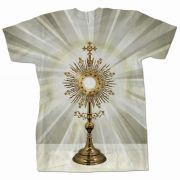 Monstrance Graphic Poly T-Shirt
