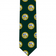 US Army Pattern Glossy Poly Satin Necktie