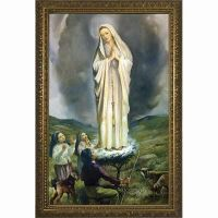 Our Lady of Fatima with Children Framed Wall Art