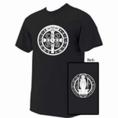 Benedictine Medal T-shirt -  - BENM1