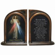Divine Mercy Bookends, Famous Prayer From St. Faustina's