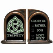 Trinity 3N1 Alabaster Bookends