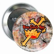 Viva Cristo Rey 3in. Round Glossy Button (5 Pack)