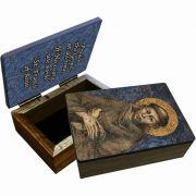 Saint Francis of Assisi Keepsake Box