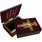 San Damiano Cross Keepsake Box
