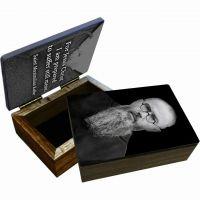 Saint Maximilian Kolbe Portrait Keepsake Box