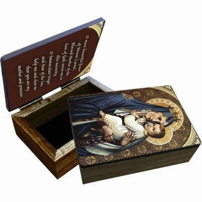 Our Lady of Mount Carmel Keepsake Box -  - BOX-1413