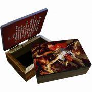 Saint Michael the Archangel Keepsake Box
