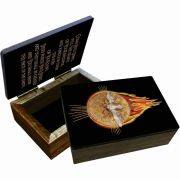 Holy Spirit with Fire Keepsake Box