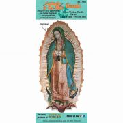 Our Lady of Guadalupe Durable Christian Decal