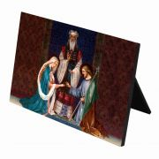 Wedding of Joseph and Mary Horizontal Desk Plaque