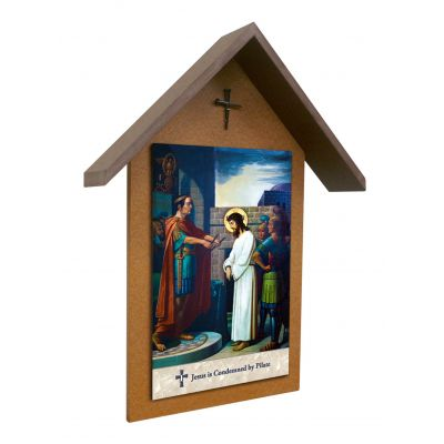Emmerich Stations of the Cross Simple Outdoor Shrine (Set of 14) -  - SHRO-415-2