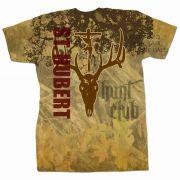 Saint Hubert of Liege Hunt Club Graphic Full Color T-shirt