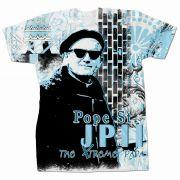 Saint Pope John Paul II Xtreme Papa Graphic Poly T-Shirt