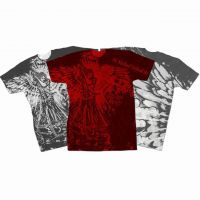 Saint Michael Defend Us Full Color T-Shirt