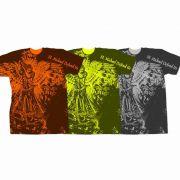 Saint Michael Defend Us Graphic Poly T-Shirt