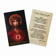 For God So Loved the World (Foucauld Prayer of Abandonment) Holy Card