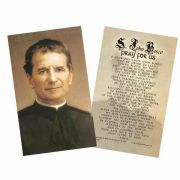 Saint John Bosco Holy Card
