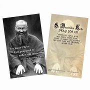 Saint Maximilian Kolbe Holy Card