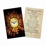 Francis' Prayer to the Holy Spirit Holy Cards