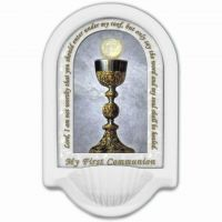 My First Holy Communion Holy Water Prayer Font