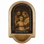 Holy Family of Nazareth Prayer Church Holy Water Bowl Font