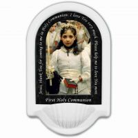 First Holy Communion Prayer Church Holy Water Bowl Font