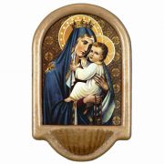 Our Lady of Mount Carmel Church Holy Water Bowl Font