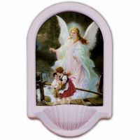 Guardian Angel Church Holy Water Bowl Font II