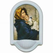 Madonna of the Streets Church Holy Water Bowl Font