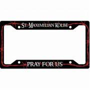 Saint Maximilian Kolbe License Plate Frame
