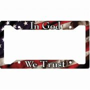 In God We Trust License Plate Frame