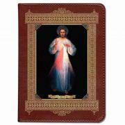 Personalized/Custom Text Bible Divine Mercy Vilnius  Burgundy RSVCE