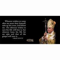 Pope Benedict XVI with Scripture Verse Ceramic 11 Oz Mug