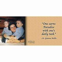Saint Gianna Molla with Quote Ceramic 11 Oz Mug