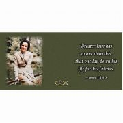 Saint Gianna Molla with Scripture Verse Ceramic 11 Oz Mug