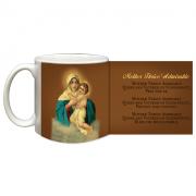 Schoenstatt Madonna Coffee Ceramic 11 Oz Mug