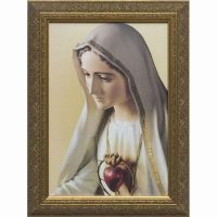 Our Lady of Fatima Framed Wall Art