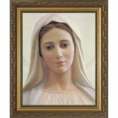 Our Lady of Medjugorje Framed Wall Art -  - NW-131