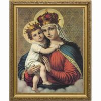 Our Lady of Good Remedy Framed Wall Art