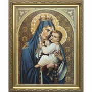 Our Lady Of Mount Carmel Framed Wall Art