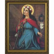 Saint Philomena Framed Wall Art