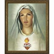 Traditional Immaculate Heart Framed Wall Art