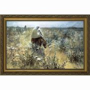 Flight Into Egypt by Hitchcock Framed Wall Art