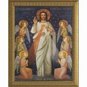 King of Divine Mercy Framed Wall Art