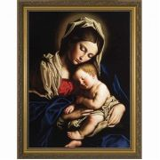 Madonna and her Child Framed Wall Art