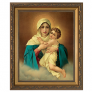 Schoenstatt Madonna Framed Wall Art