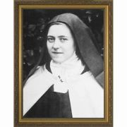 Saint Therese (Portrait) Framed Wall Art