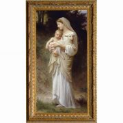 L'Innocence - Ornate Gold Framed Wall Art